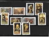 miniature FRANCE 150à159 oblitérés vague