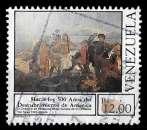 miniature Vénézuela 1987 - Mi 2475 (o) - Découverte de l'Amérique 500e anniversaire