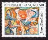 miniature  France 1987 Y&T 2473 ** série artistique Bram Van Velde 5,00 cote 3,00€