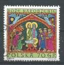 miniature ,Pologne 2000 - Yt n° 3640 - Noël - la naissance