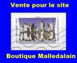 FRANCE - Oblitéré sur fragment - AA 1820 Manchots royaux - TCA 212
