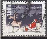 miniature Pologne 2011  1,55 (Noël)  oblitéré