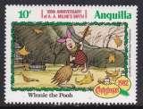 miniature TIMBRE NEUF D'ANGUILLA - WINNIE L'OURSON, DESSINS DES PRODUCTIONS WALT DISNEY N° Y&T 474