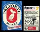 miniature Etiquettes Bière Française - Pelforth blonde - Alc 5,8% 25cl - étiquettes décollées