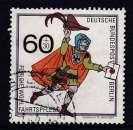miniature TIMBRE OBLITERE DE BERLIN - HISTOIRE DES POSTES : MESSAGER DU XVe SIECLE N° Y&T 813