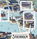 miniature Capitales européennes -STOCKHOLM-  -2021- N°Yvert F5477