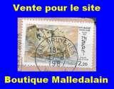 miniature FRANCE - Oblitéré sur fragment - YT 2463 Etretat  - TCA 347