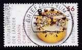 miniature TIMBRE OBLITERE D'ALLEMAGNE - MACHINE A CALCULER DE J. C. SCHUSTER N° Y&T 2073