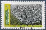 miniature FRANCE 2021 : yt 1947 Oblitéré/Used # Mosaïque de paysages - Forêts et orgues basaltiques