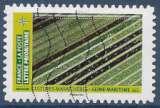 miniature FRANCE 2021 : yt 1951 Oblitéré/Used # Mosaïque de paysages - Culture maraichères